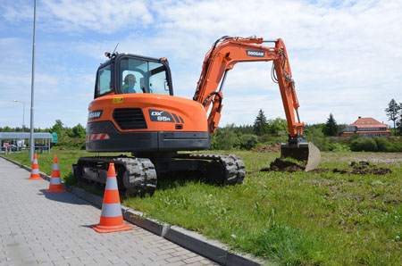 Doosan Launches a new excavator of 8 tonnes of Phase IIIB