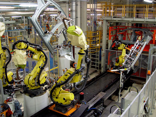 El Sector Del Automóvil Lidera La Industria Española
