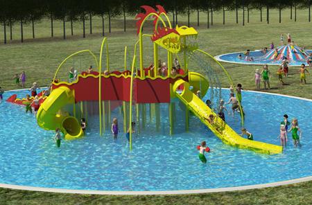 Isaba realizar el nuevo parque de agua de valencia de don for Piscinas leon valencia don juan