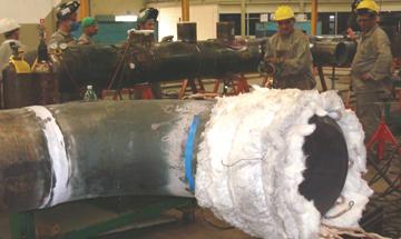 Tubular threads for union of voestalpine Böhler Welding - MetalWorking