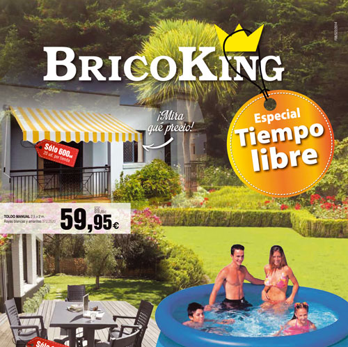 Bricoking edita el folleto especial tiempo libre for Piscinas bricoking