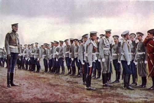 Ejército ruso, 1914