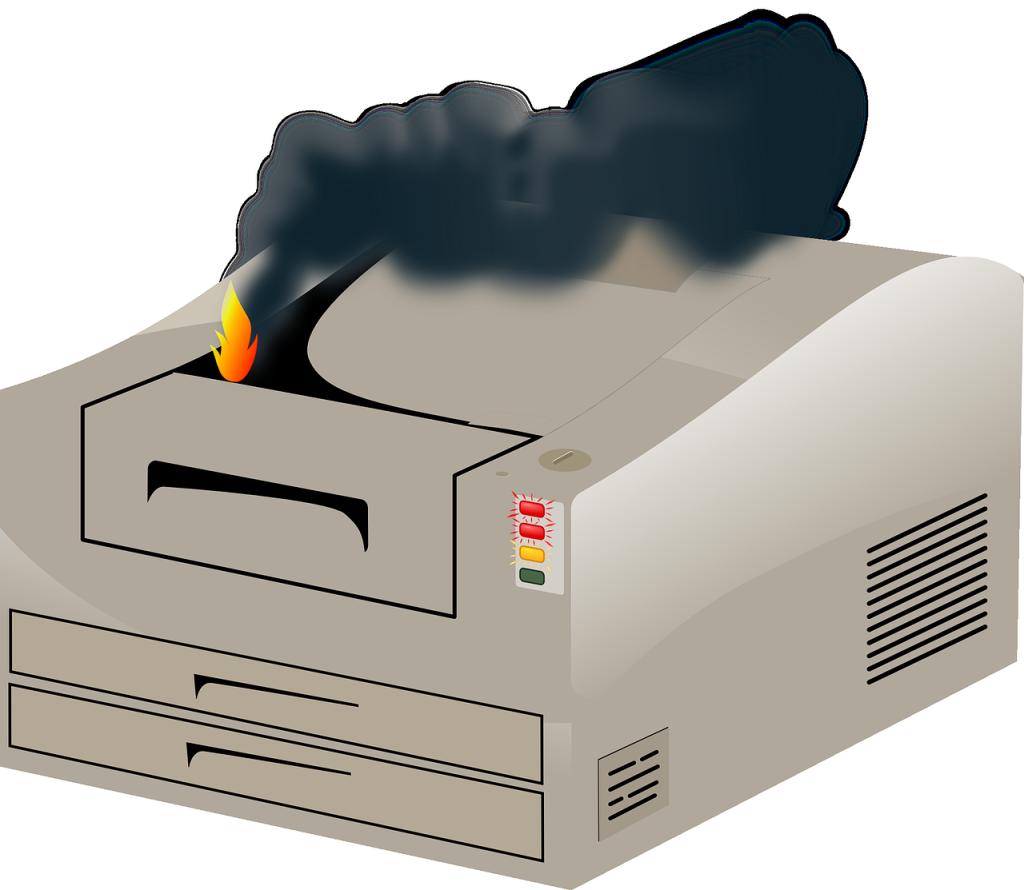 error de dispositivo-impresora