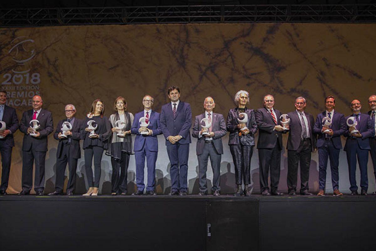 Entregados los Premios Macael 2018 en una gala que promueve la unidad, cooperación, compromiso e innovación de la industria del mármol