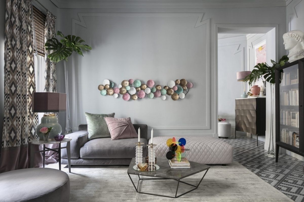 Natuzzi Italia se presenta en la nueva edición de Casa Decor con su espacio armónico y bohemio diseñado por Raúl Martins