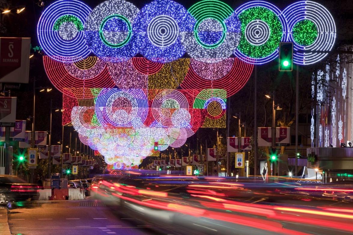 Teresa sapey una artista que da luz y color a las ciudades - Decoracion madrid ...