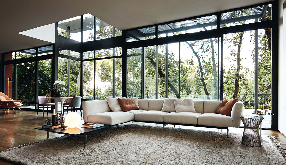 Avio by piero lissoni for knoll a new contemporary and for International decor furniture