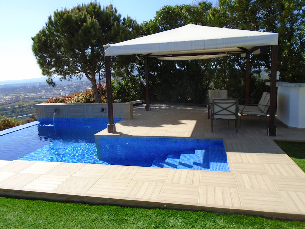 Suelos para jardines exteriores awesome with suelos para - Suelos para patios exteriores ...