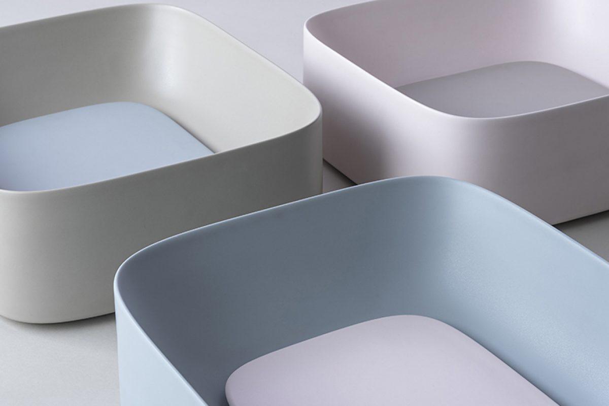 Los colores del agua: la armonía cambiante del lavabo Acquerello de Valdama