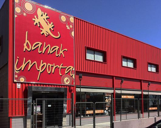 nueva tienda banak importa en rivas madrid
