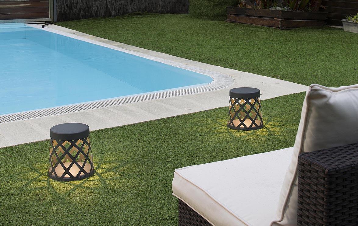 Planificando la decoraci n de nuestros espacios exteriores Iluminacion de terrazas exteriores
