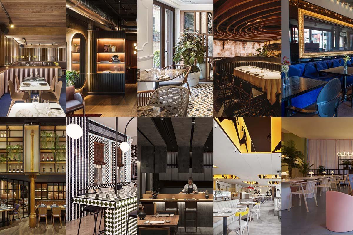 Diez restaurantes españoles que han destacado en 2020 por su interiorismo y diseño