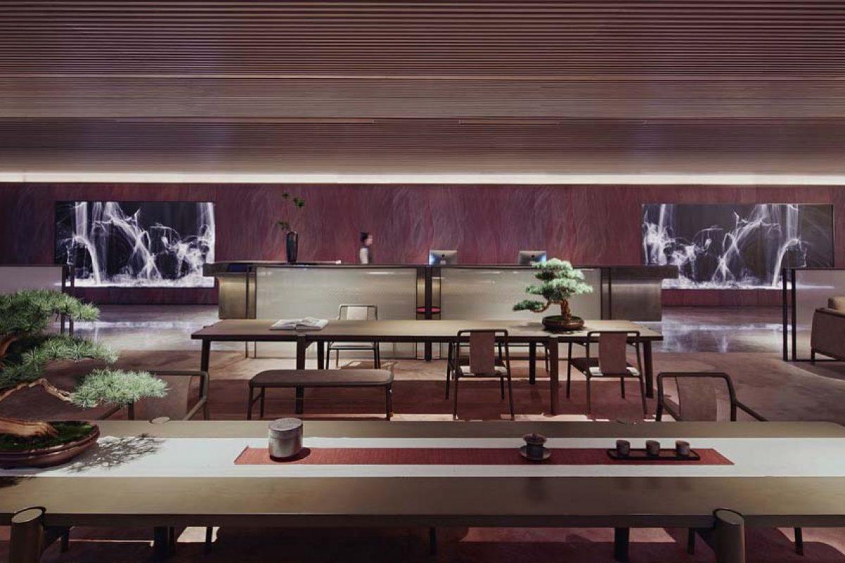 Joya Hotel Hangzhou por Vermilion Zhou. Un elegante diseño pensado para la relajación