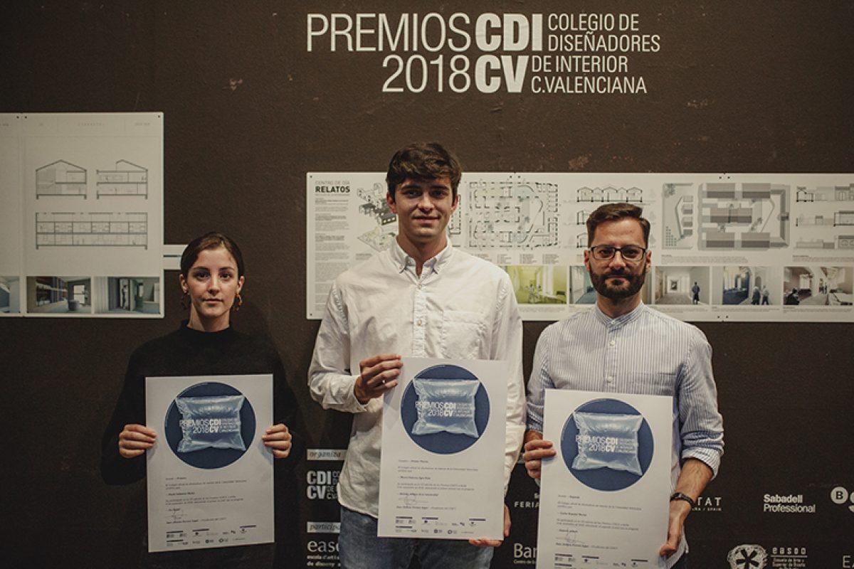 Anunciados los ganadores de los Premios CDICV 2018 de diseño interior
