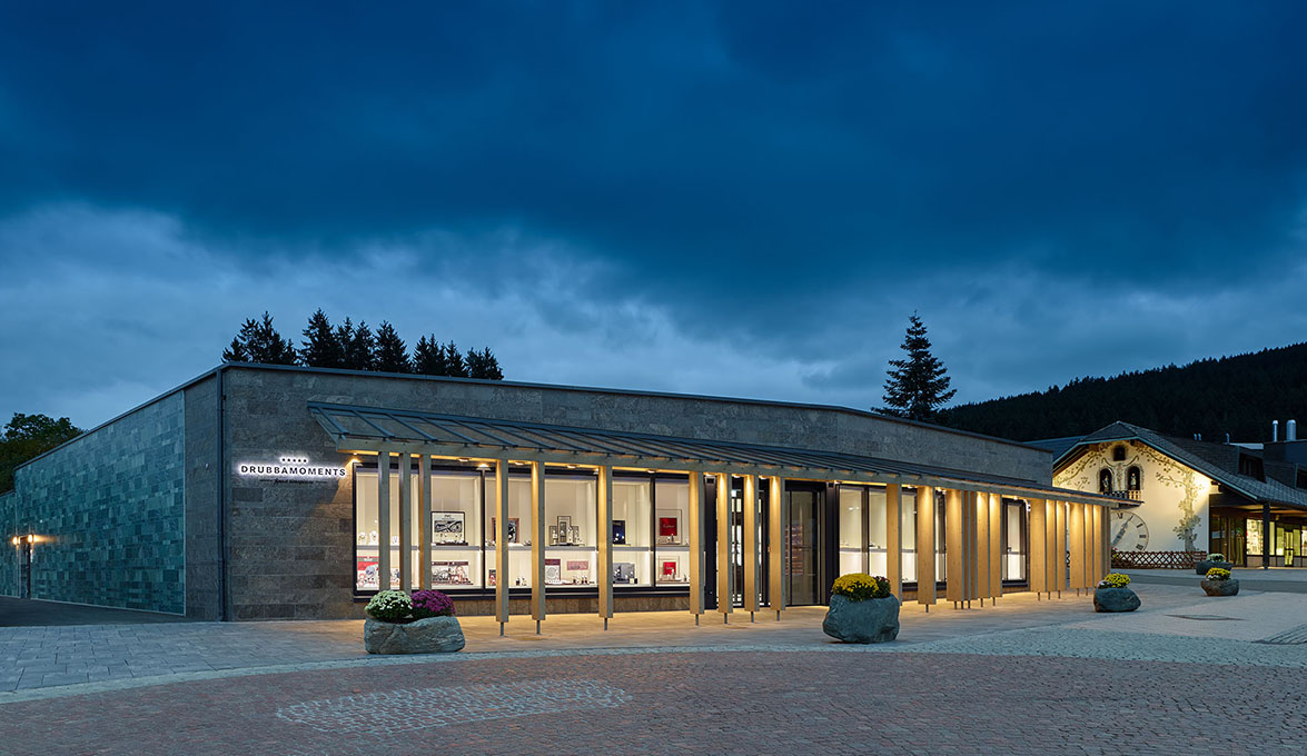 DEU, Titisee-Neustadt, Drubba Moments, Ippolito Fleitz Group Identity Architects , Fertigstellung: 2015 , DIGITAL 100 MB 8 Bit. - ©Zooey Braun; Veroeffentlichung nur gegen Honorar, Urhebervermerk und Beleg / permission required for reproduction, mention of copyright, complimentary copy, FUER WERBENUTZUNG RUECKSPRACHE ERFORDERLICH!/ PERMISSION REQUIRED FOR ADVERTISING!