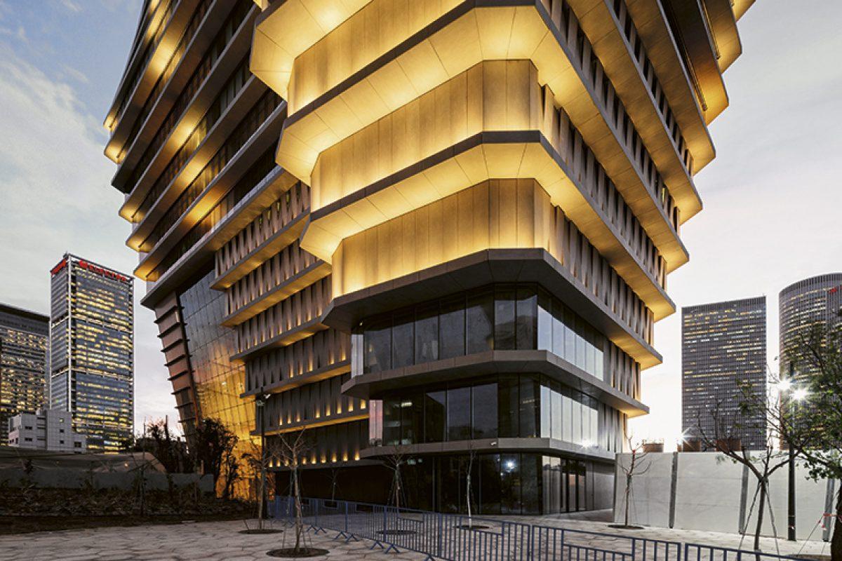 Más de 28.000 m2 de Dekton® by Cosentino en el edificio ToHa de Ron Arad y Avner Yashar en Tel Aviv