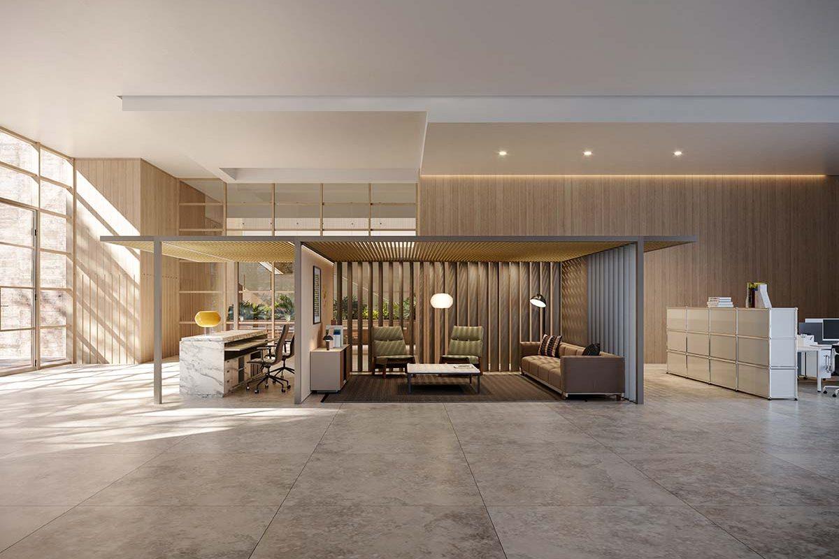 Pavilion O de Kettal, una estructura modular que permite reinventar el lugar de trabajo