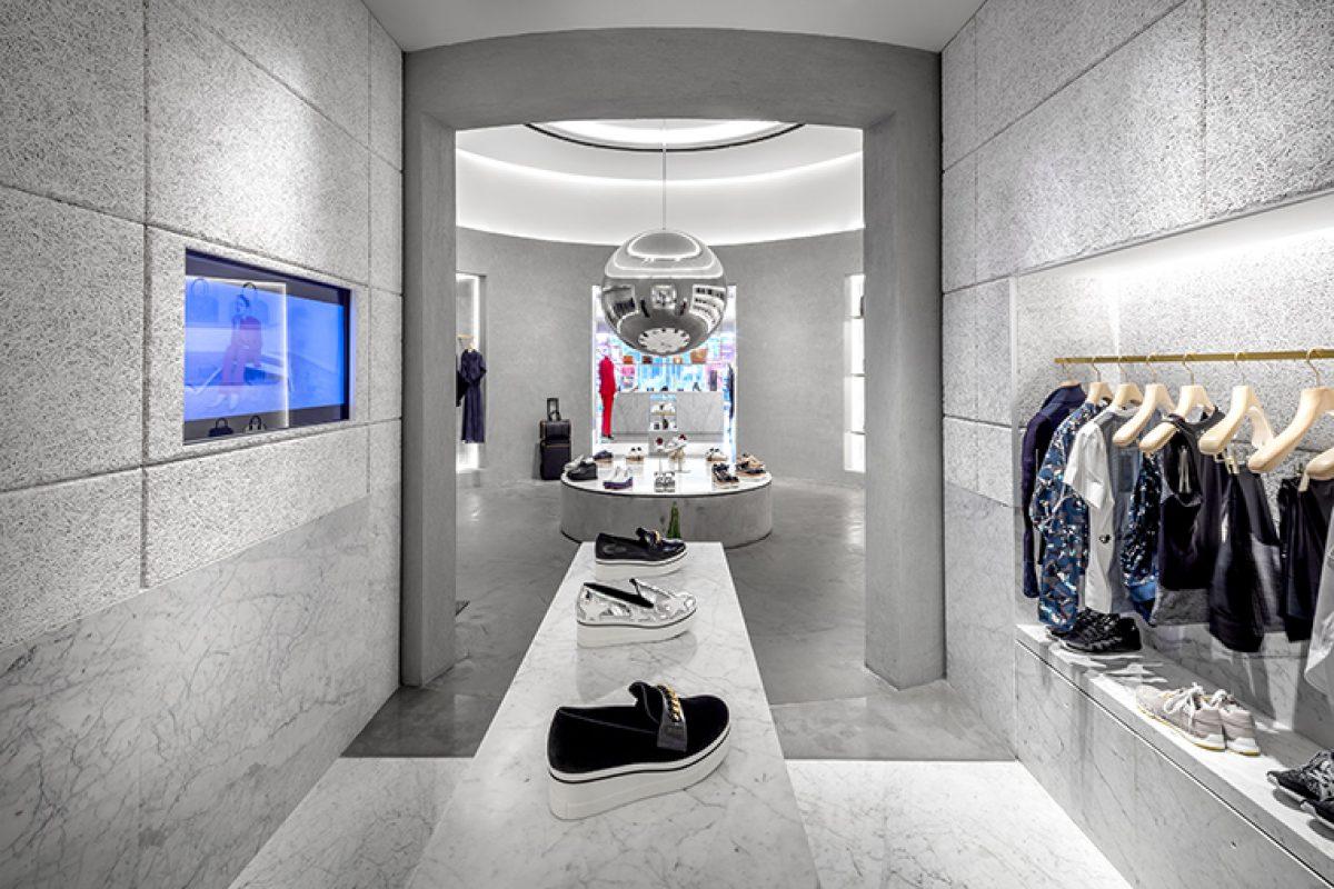 El caso de Baux y Stella McCartney, la unión del diseño de interiores, la moda y la sostenibilidad