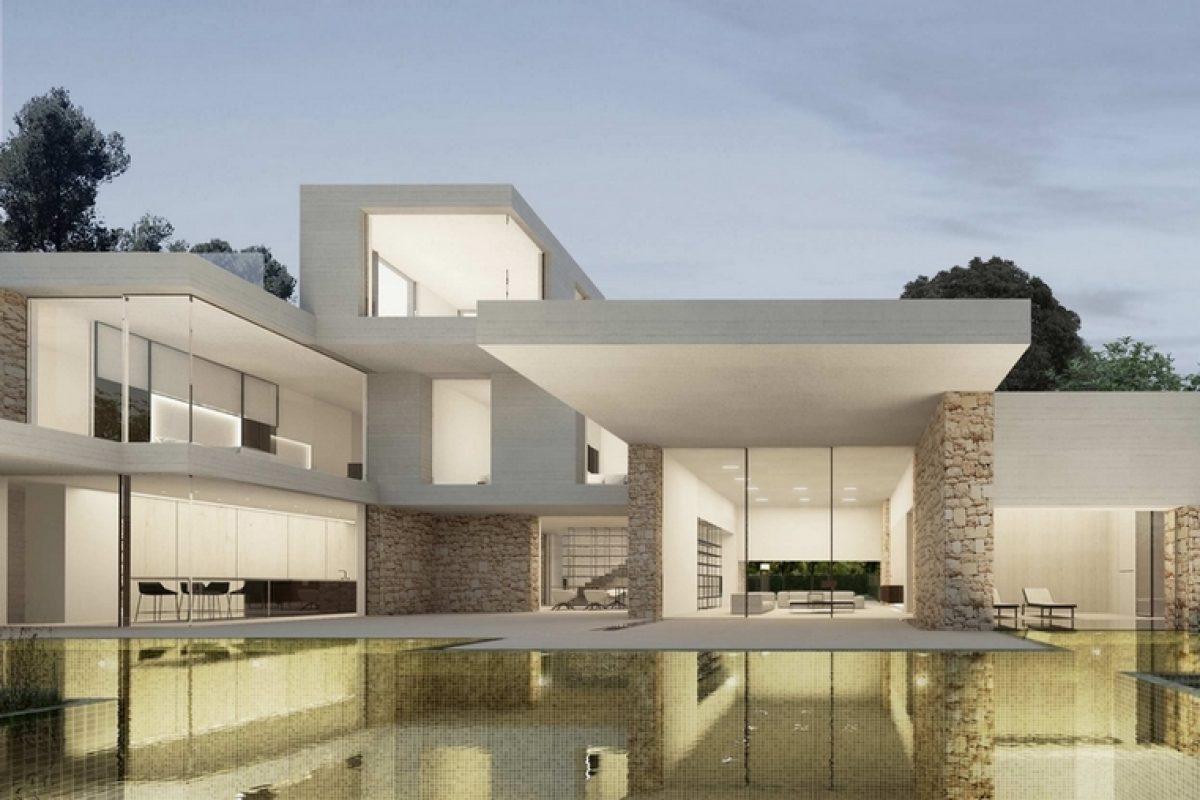 Ramón Esteve juega con las proporciones y crea Santa Apolonia, una vivienda con múltiples perspectivas