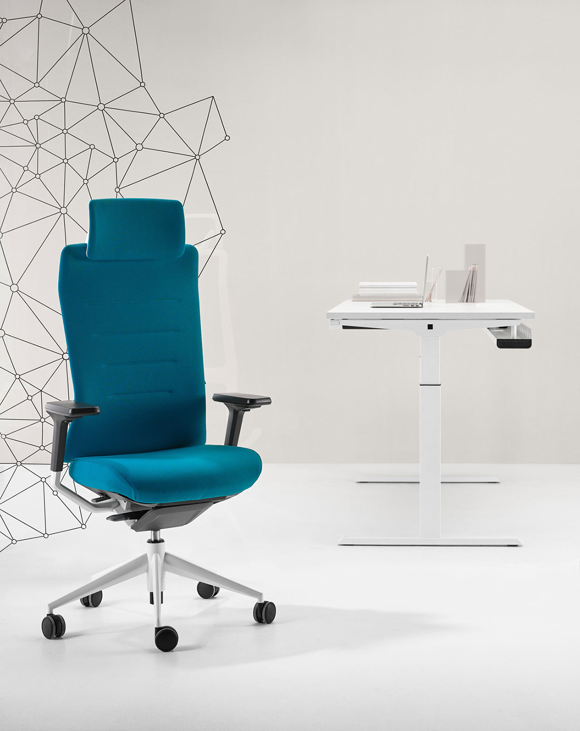 the tnk flex task seating with high performance technology by actiu