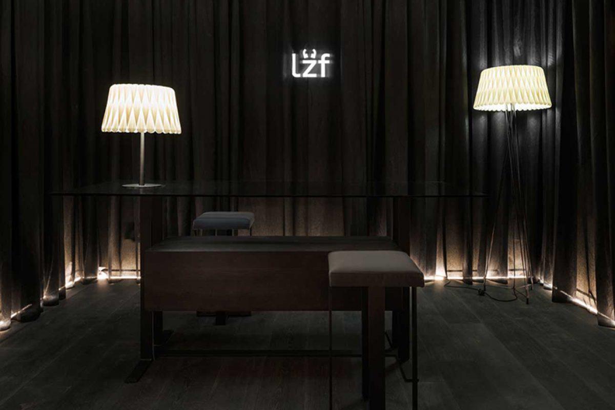 Al más puro estilo «downtown contemporáneo». Ramón Esteve diseña para LZF el espacio Black Note en Casa Decor