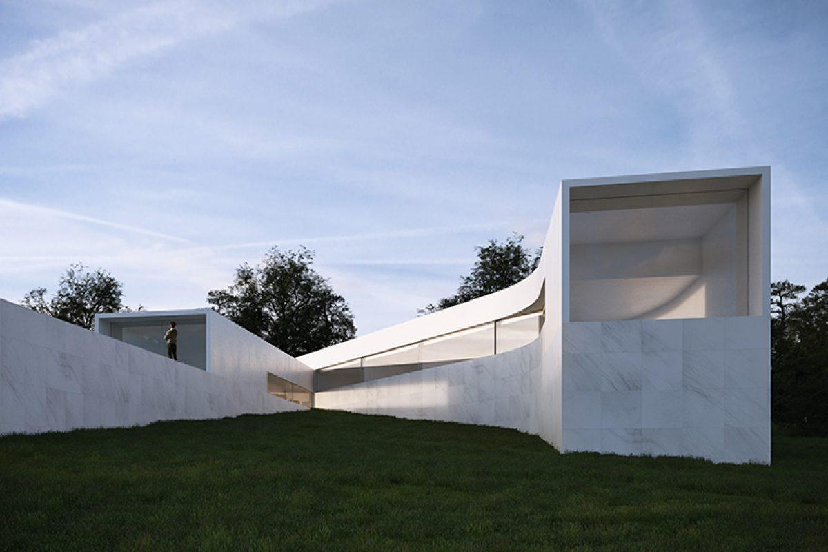 Fran Silvestre Arquitectos diseña la Casa Coimbra-Steinmann. Adaptarse a la topografía y abrirse al paisaje
