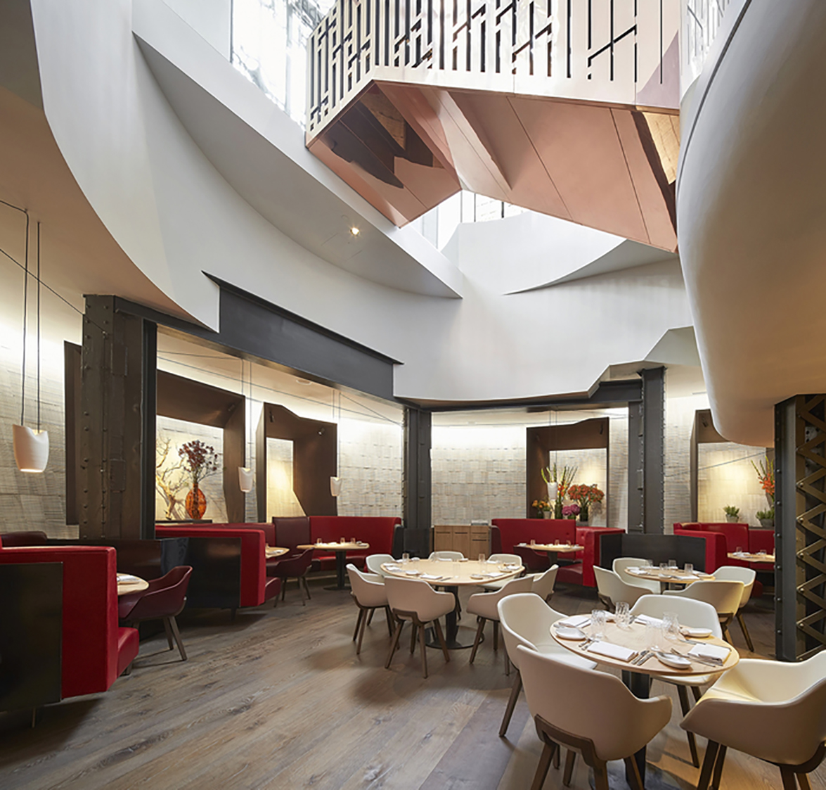 Announced winners for the best designed restaurants and for Best restaurant interior designs in the world