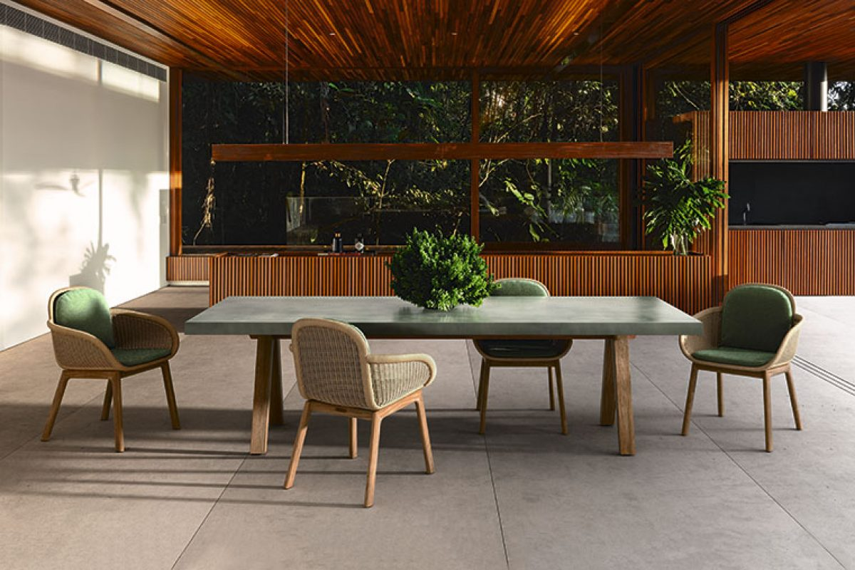 Patricia Urquiola crea Vimini para Kettal inspirada por la silla Basket, diseñada en los años 50 por Nanna y Jørgen Ditzel