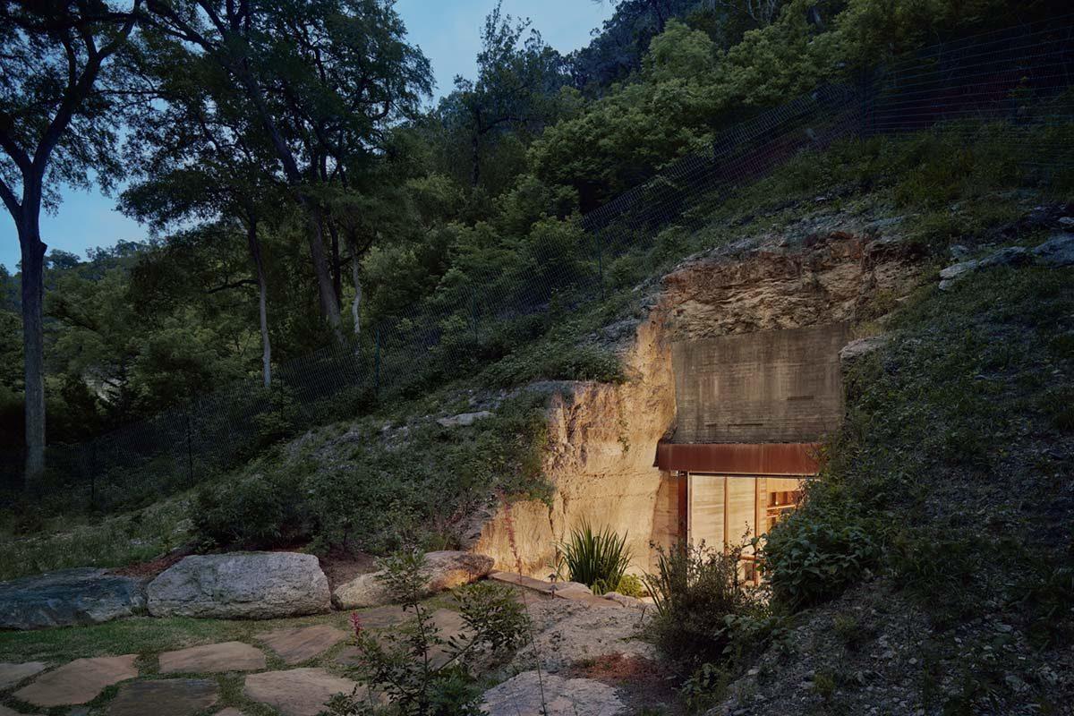 La Cava del Vino de Hill Country por Clayton Korte
