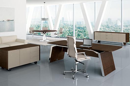 Mesa Metar, diseño futurista bicolor de Perin & Topan presentado por ...