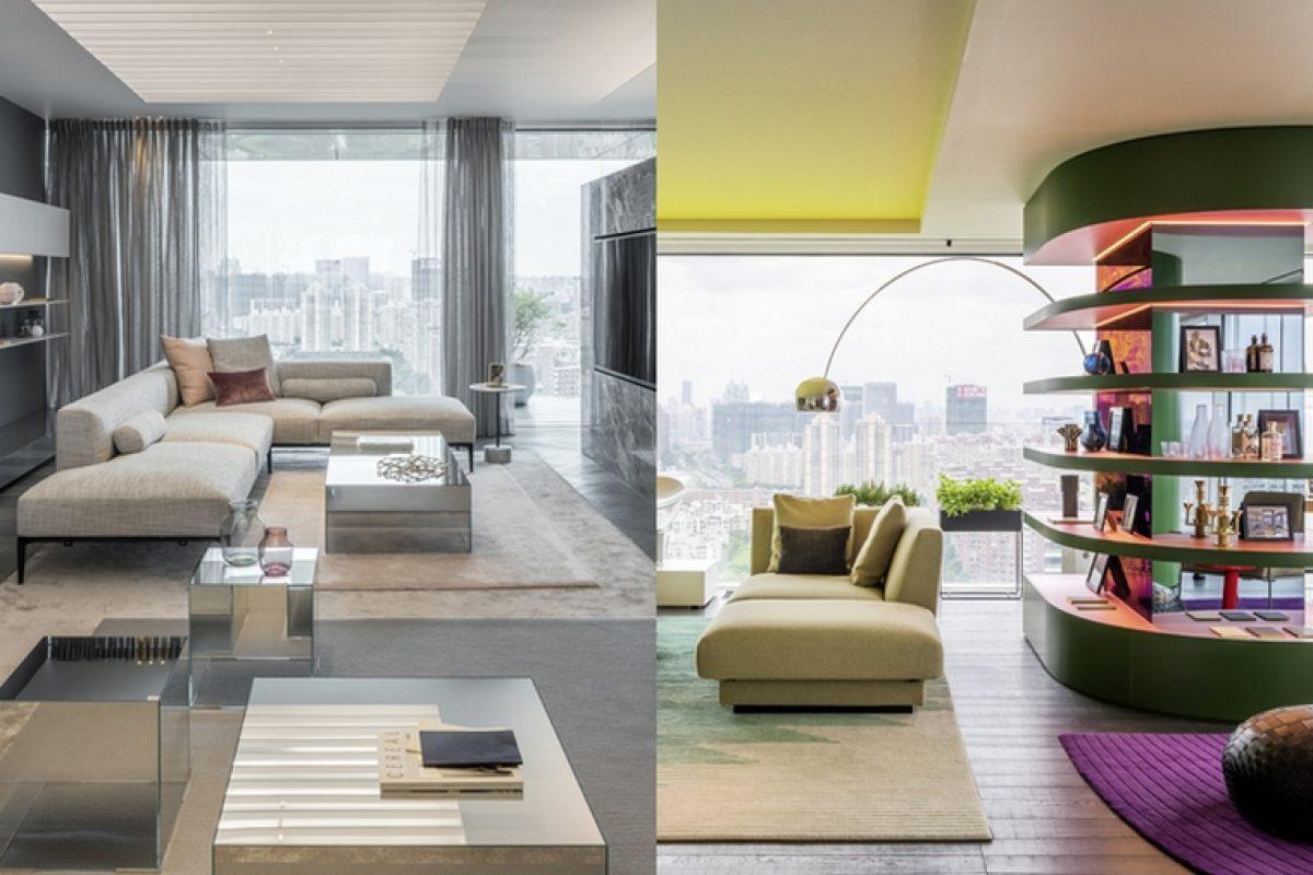 Ippolito Fleitz Group y CEG presentan su nuevo proyecto en Shanghai: Shades of Grey y Chromatic Spaces. Dos increíbles apartamentos pilotos