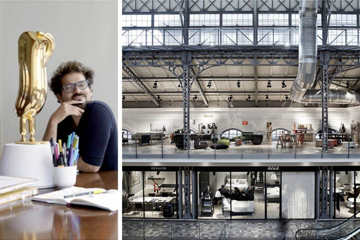 El diseñador español Jaime Hayon, uno de los protagonistas en el XX aniversario de Designblok, el Festival Internacional de Diseño de Praga