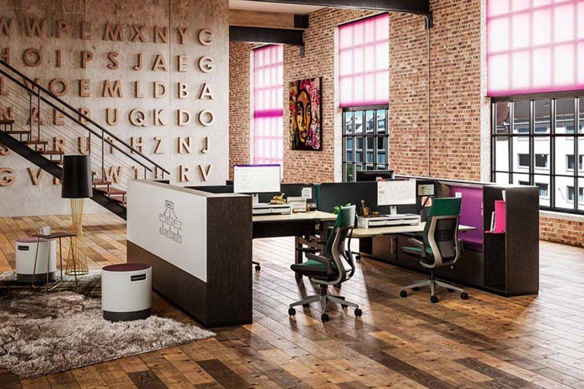 «Share It Collection» de Steelcase: una zona de trabajo que ayuda a concentrarse en los espacios abiertos
