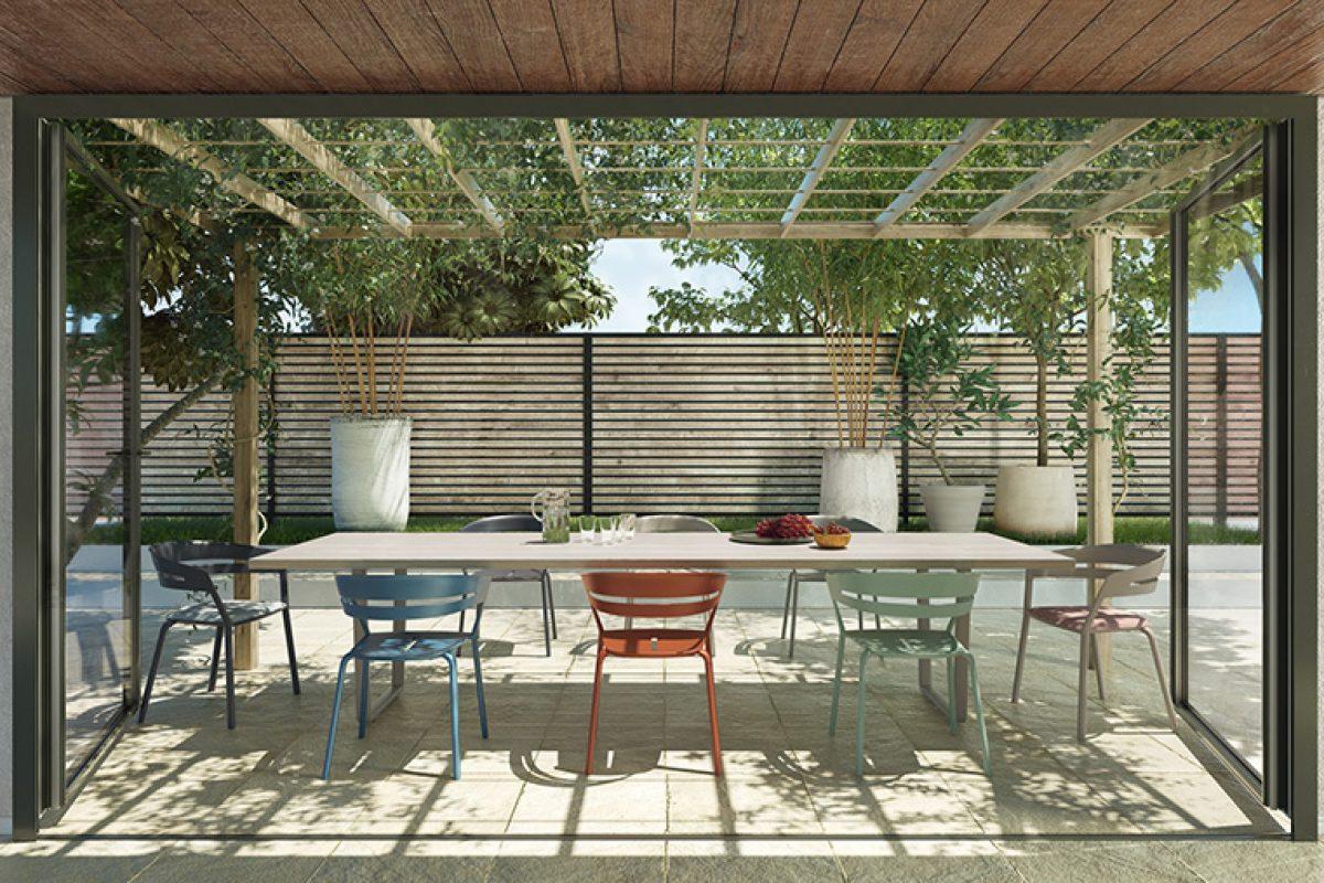 Anticipo Salone del Mobile 2020: Ria, la butaca de exterior diseñada por Alberto Lievore para Fast