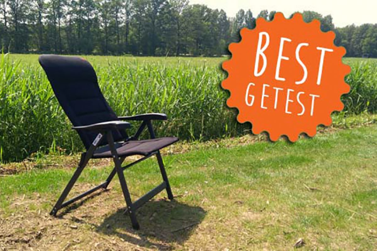 AP-237 Air Deluxe de Crespo: Mejor silla de camping según la prestigiosa revista holandesa Kampeermeneer