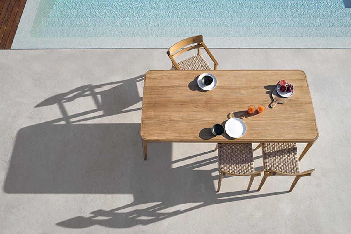 Paralel de Gabriel Teixidó, la nueva  colección sofisticada y cálida para  exteriores de Point