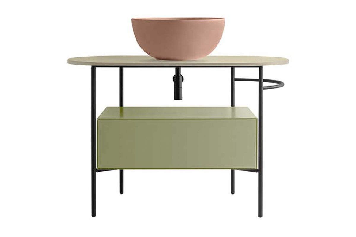 Ceramica Globo presenta BOB, un lavabo ligero y armonioso de líneas esenciales y suaves