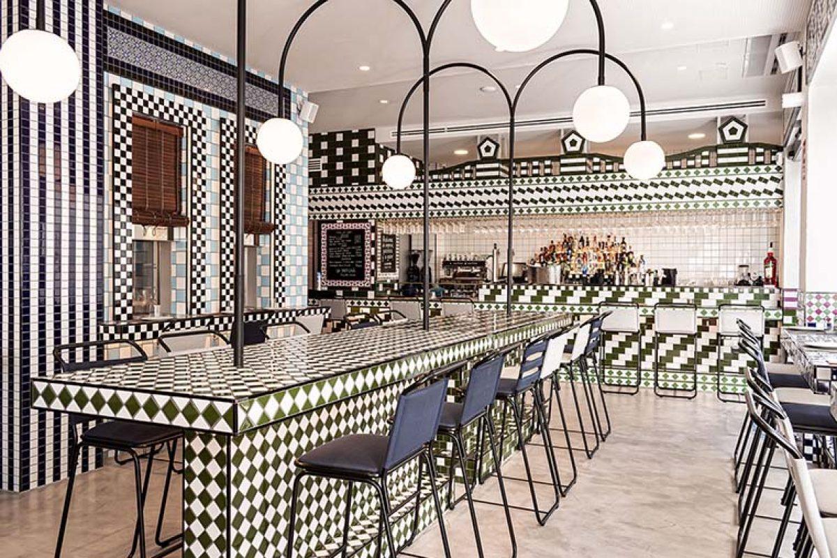 Masquespacio diseña el restaurante La Sastrería en Valencia. Un homenaje al barrio que lo acoge