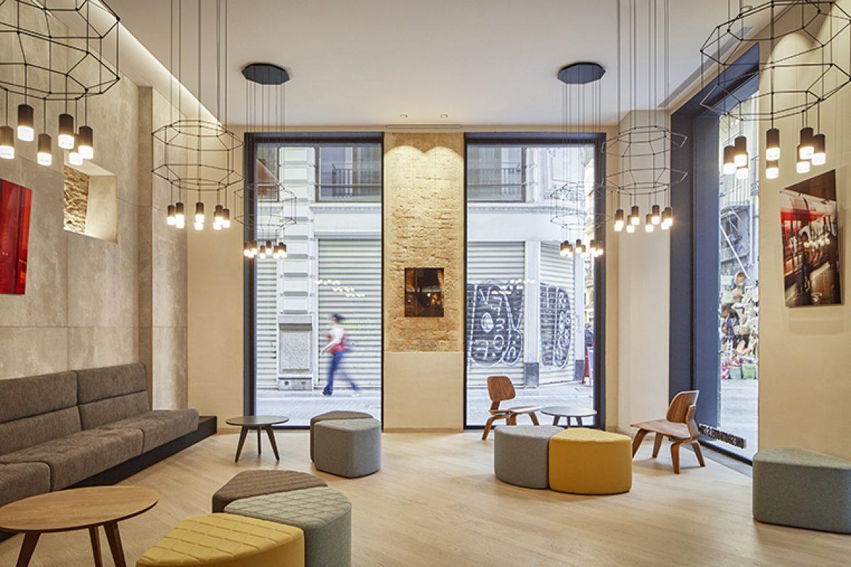 Nonna Design diseña el mobiliario a medida para el Hotel Boutique Mercat 09 de Valencia