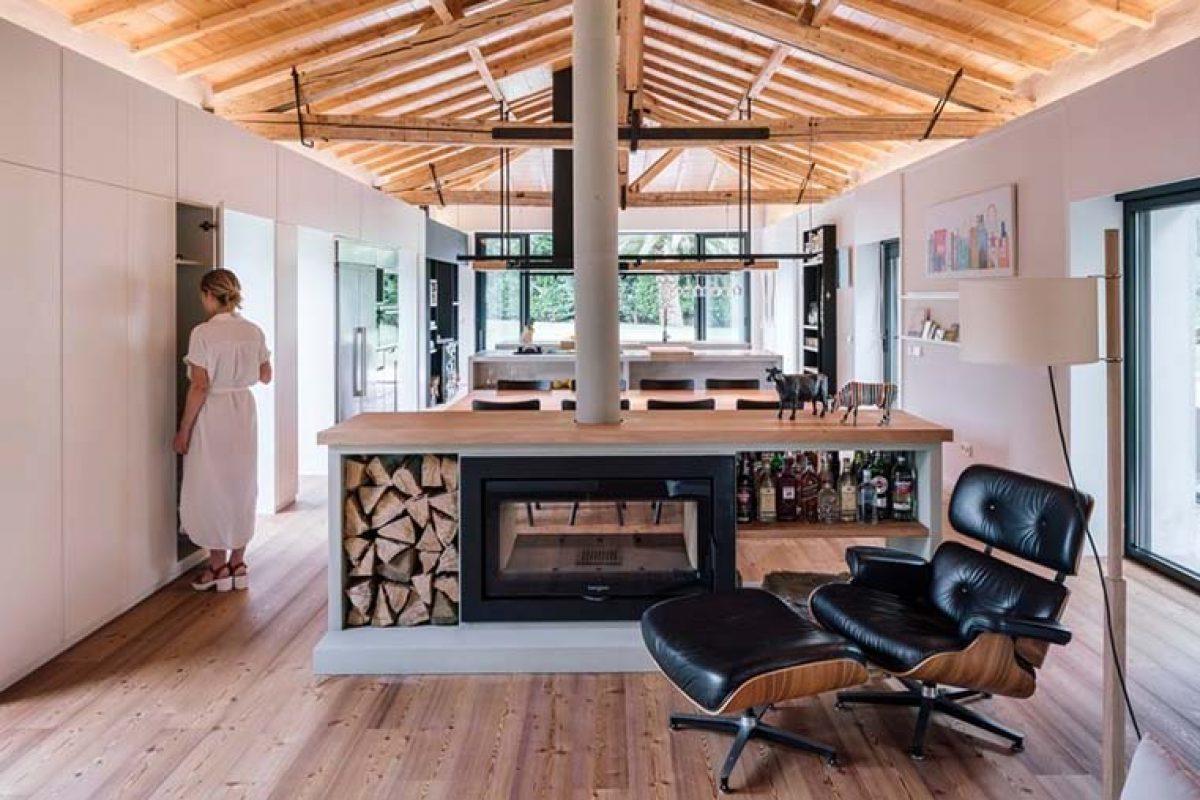 Vivienda en Güemes, reconversión de un establo en vivienda, por Zooco Estudio