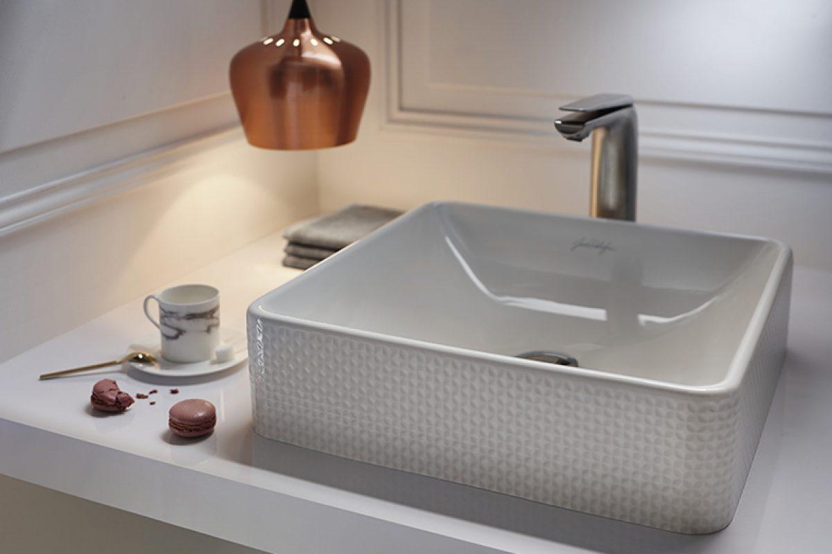 Jacob Delafon presenta su nueva línea de lavabos Vox. Diferentes estilos pensados para vestir los baños más elegantes