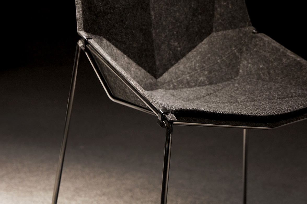 Nico less chair designed by primoz jeza studio for donar for Designer chairs for less