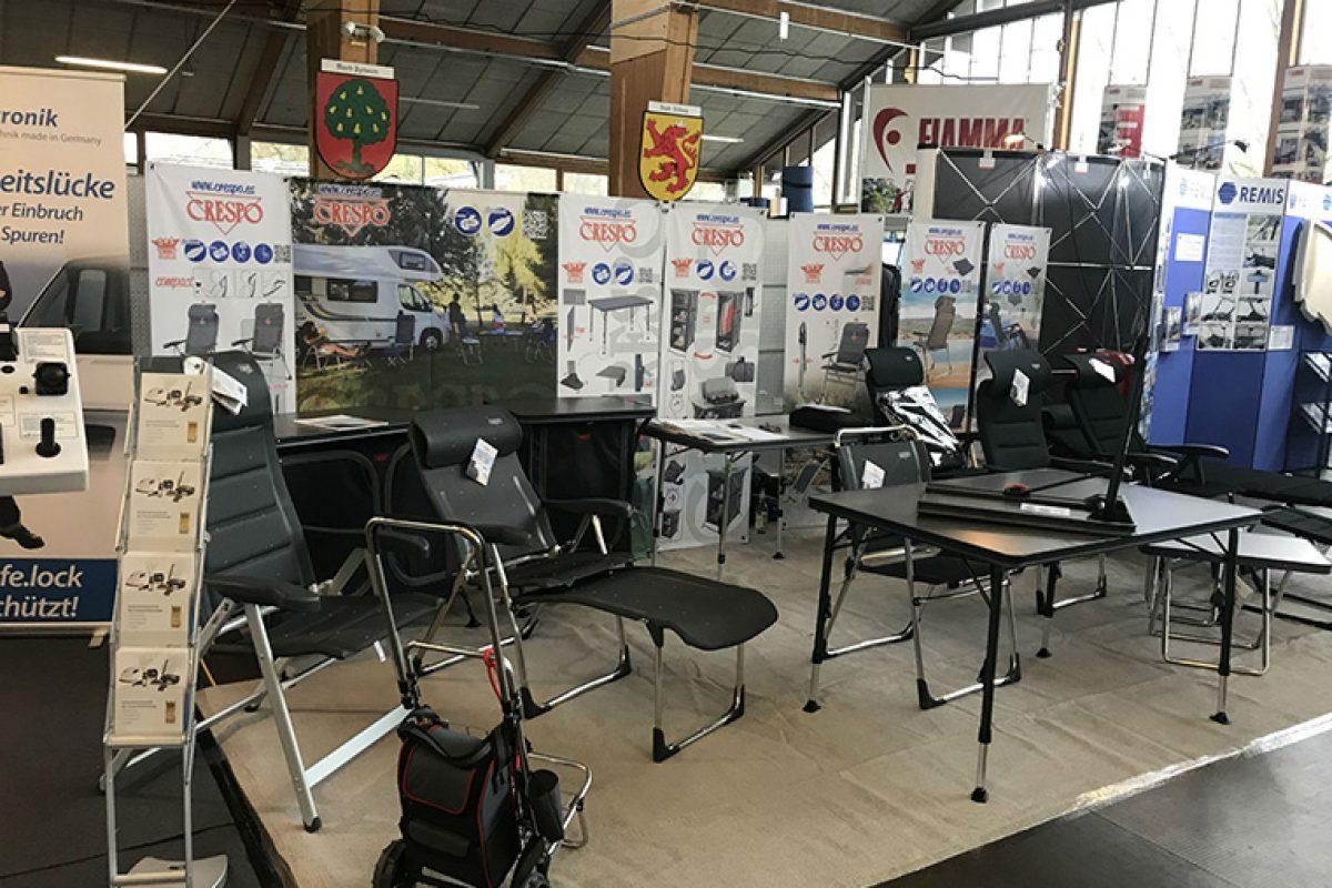 Crespo presenta en Alemania sus novedades para camping y jardín de la mano de Camping Profi