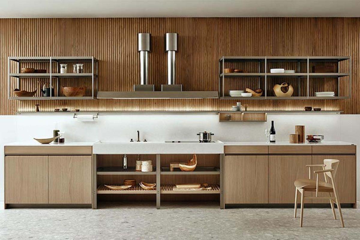 K-System de Ernestomeda, el nuevo sistema modular abierto de la cocina K-Lab
