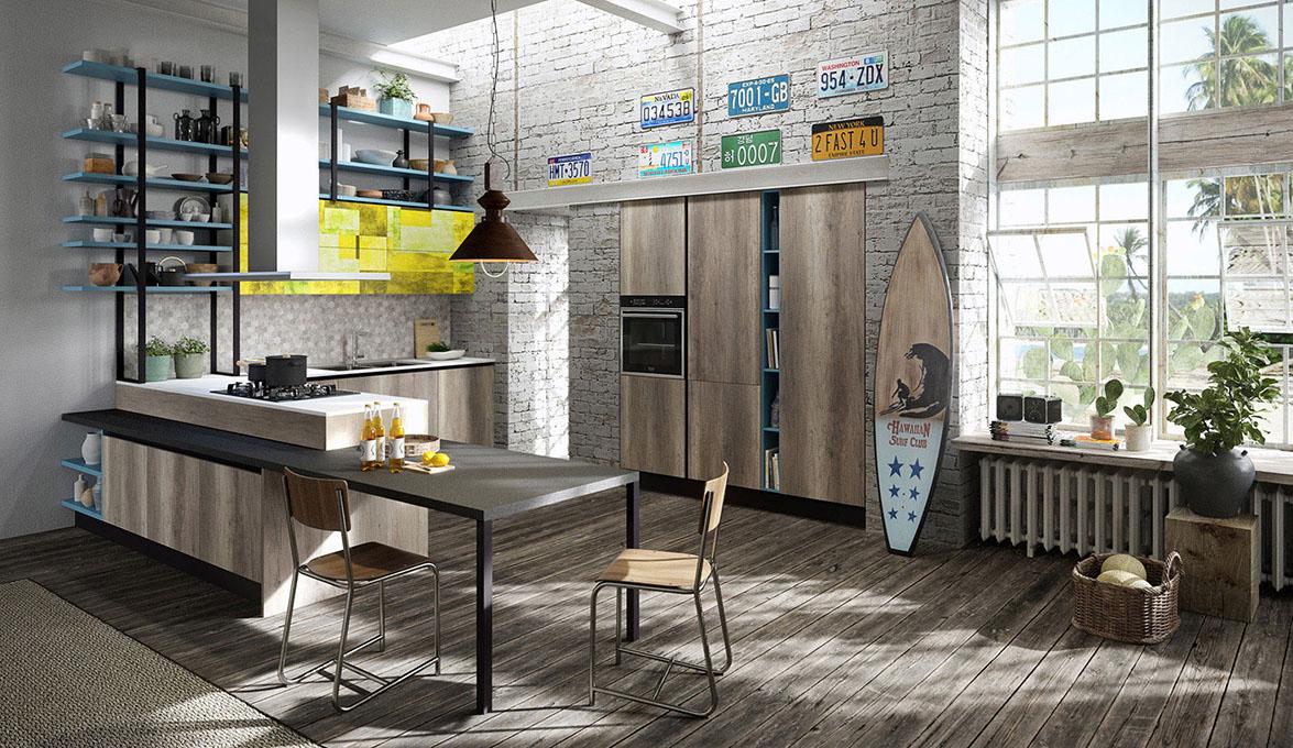 Aran cucine presenta mia su l nea de cocinas m s joven y for Migliori cucine 2016