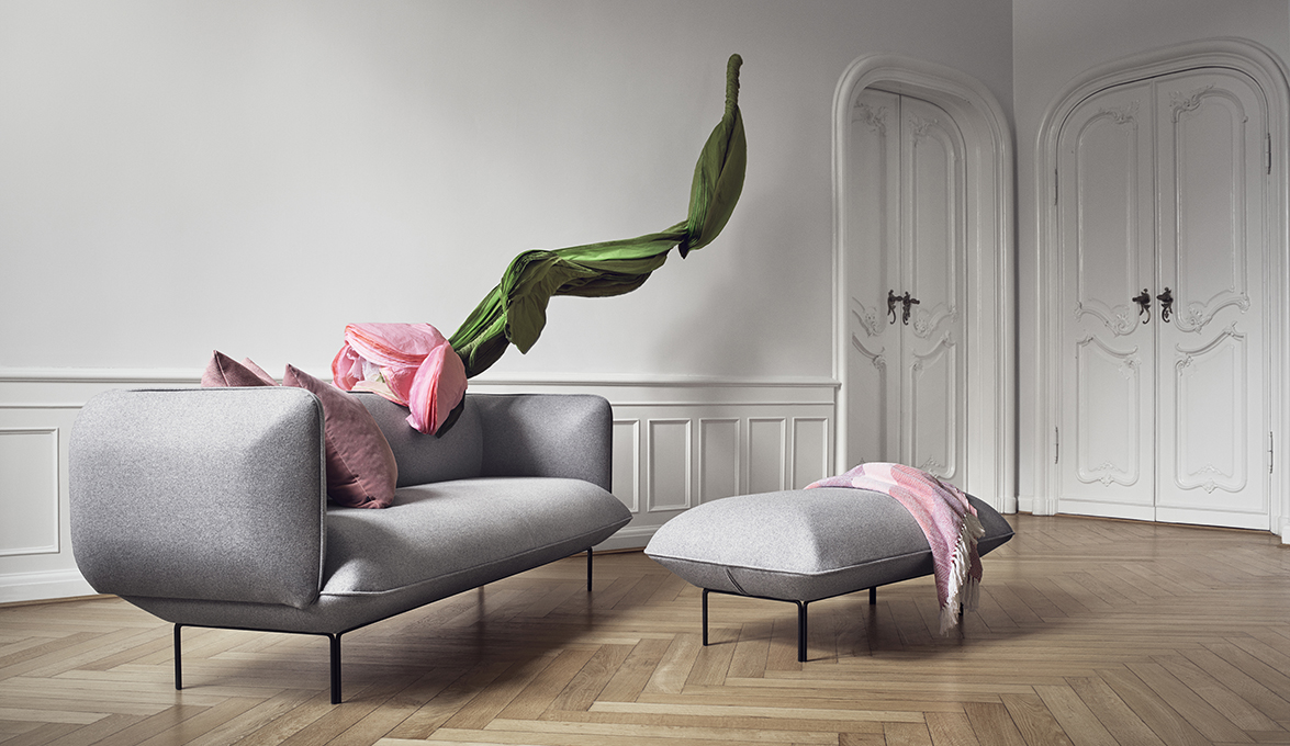Light and soft shapes in cloud the latest by yonoh for for Bolia sofa