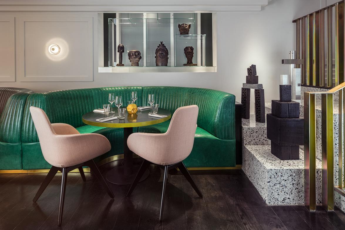 Tom Dixon diseña el ecléctico restaurante Bronte de Londres
