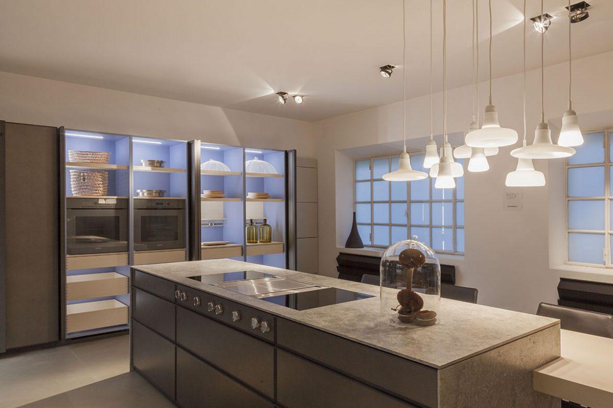 Cocina Nordica de Key Cucine. El vínculo ideal entre la cocina y las salas de estar en los nuevos estilos de vida contemporánea