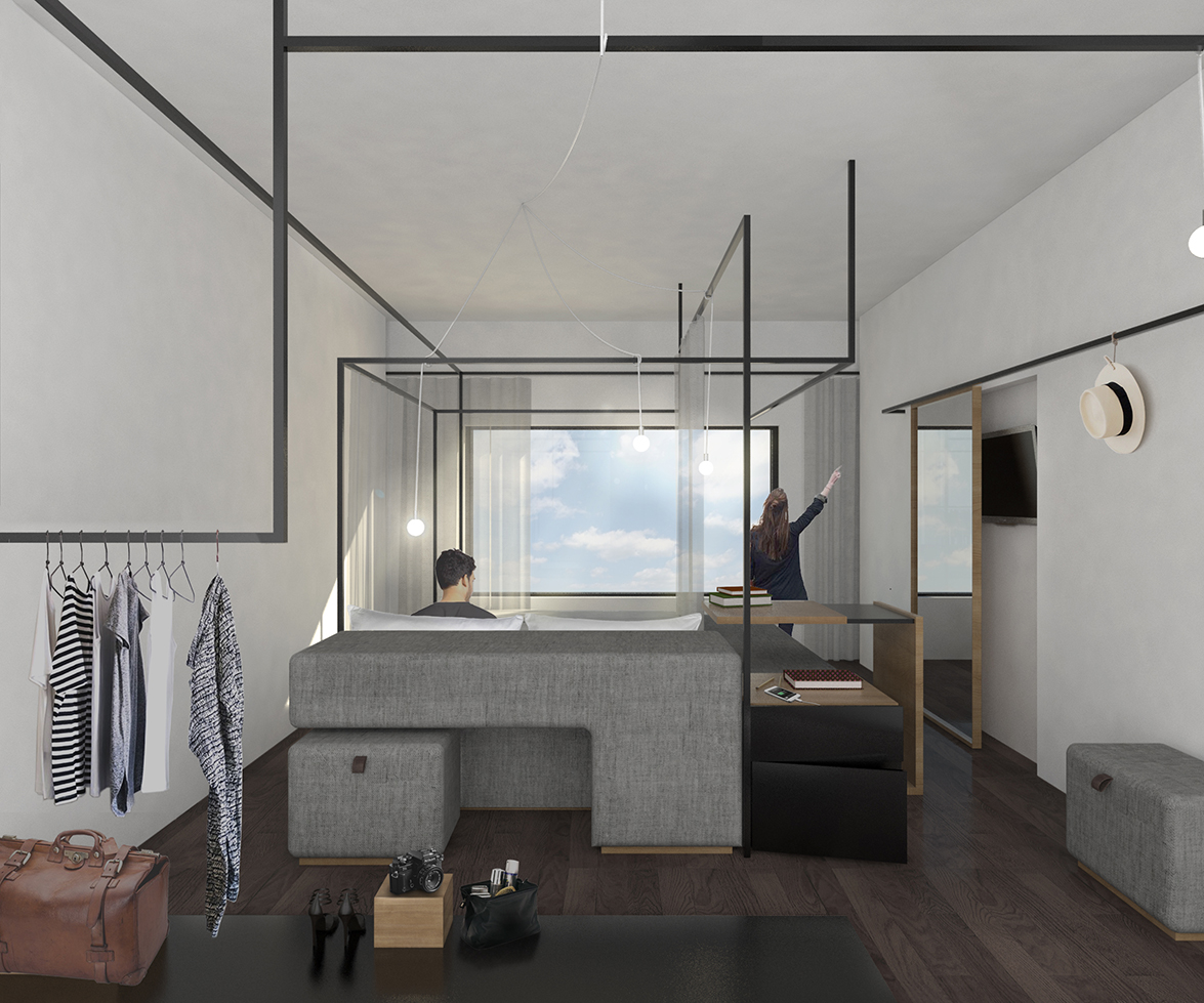 Innovative Concept By Four O Nine Awarded First Prize In Eurostars Hotel Lab Design Competition