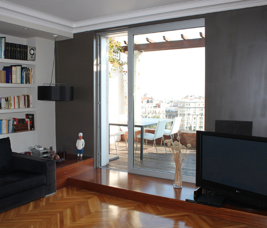 obra vivienda barcelona arquitecto mara llongueras clotet llongueras clotet arquitectes soluciones alumafel technal